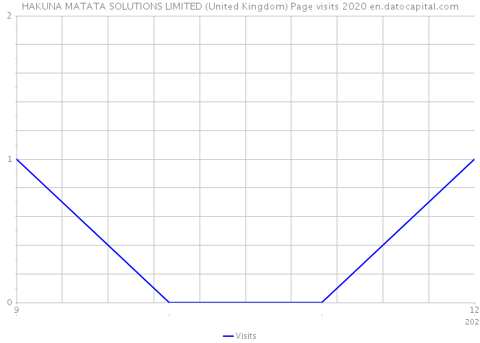 HAKUNA MATATA SOLUTIONS LIMITED (United Kingdom) Page visits 2020